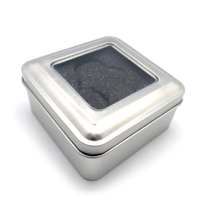 Square Tin Windowed Packaging