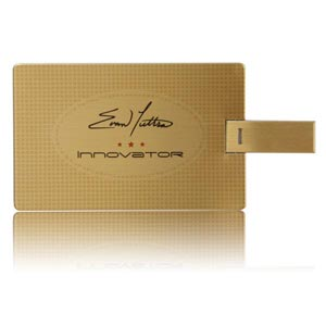 Business card gold usb flash drive from project usb business card usb flash drive business card memory stick reheart Images