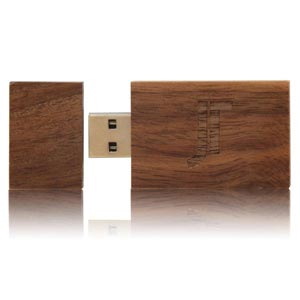 Wooden USB Flash Drive. Wooden USB Memory Stick